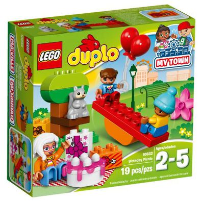 LEGO เลโก้ เบิร์ทเดย์ ปิคนิค 10832