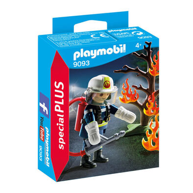 Playmobil เพลย์โมบิล ชุดของเล่นนักดับเพลิงและต้นไม้