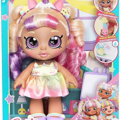 คินดี้คิดส์ ของเล่นตุ๊กตา มีสทาเบลล่า  กับอุปกรณ์วาดภาพ