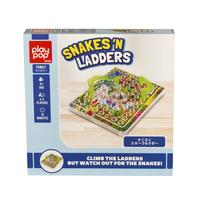 Play Pop เพลย์ป๊อป Snakes 'N Ladders Family Game