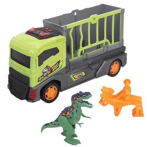Wild Quest ไวล์ด เควส ชุดของเล่นรถบรรทุกไดโนเสาร์