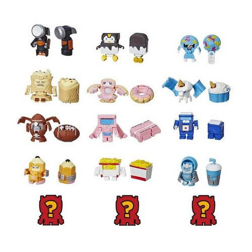 Transformers ทรานสฟอร์เมอร์ส บอท บอทส์ แพ็ค 5 (คละแบบ)