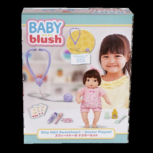 Baby Blush เบบี้ บลัช สเตย์ เวล สวีทฮาร์ท - ด็อกเตอร์ ดอลล์ เพลย์เซ็ต