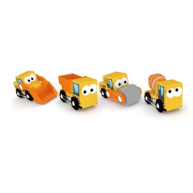 J'adore ฌาดอร์ ของเล่นไม้ ธีมรถบรรทุกก่อสร้าง