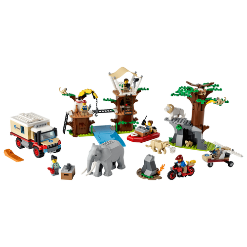LEGO เลโก้ ซิตี้ ไวล์ดไลฟ์ เรสคิว แคมป์ 60307