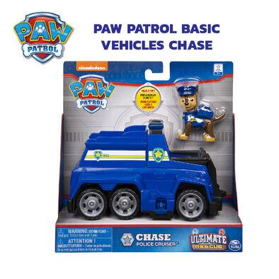 Paw Patrol พาว พาโทรล ชุดเบสิคฟิกเกอร์เชส พร้อมยานพาหนะ