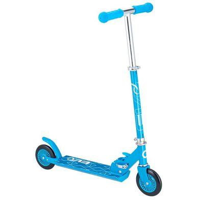 Evo สกูดเตอร์ แบบพับได้สีน้ำเงิน