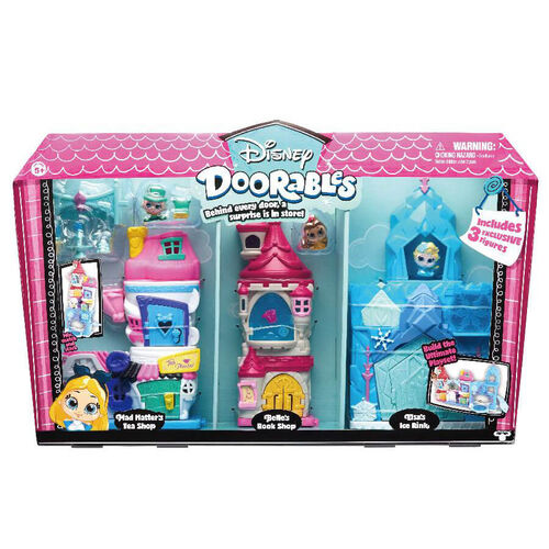 Disney Doorables ซีรีย์ 1 ดีลักซ์ เพลย์เซ็ต