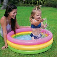 Intex สระน้ำเป่าลมเด็กเล็ก ซันเซ็ต โกลว์เบบี้