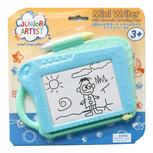 Junior Artist จูเนียร์ อาร์ตทิส กระดานแม่เหล็กวาดเขียน ขนาดเล็ก สีเขียว
