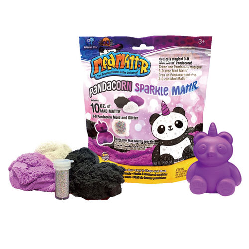 Mad Mattr แมด แมทเทรอ แป้งโดมหัศจรรย์ชุดปั้นหมีแพนด้า