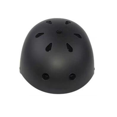 หมวกกันน๊อคเด็ก ขนาดM  สีดำ (54-58cm)