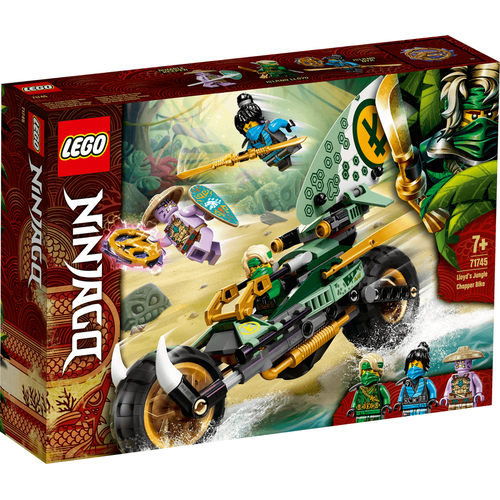 LEGO เลโก้ ลอยด์ จังเกิ้ล ชอปเปอร์ ไบค์ 71745