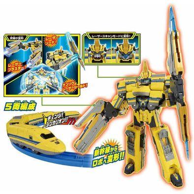 Plarail หุ่นยนต์แปลงร่าง ShinkalionDXS11 Dr. Yellow