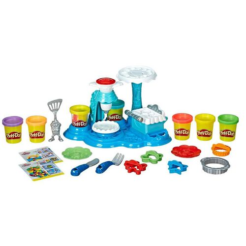 Play-Doh เพลย์โดว์ ชุดแป้งปั้นเรนโบว์เค้กปาร์ตี้