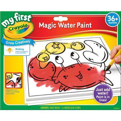 Crayola เครโยล่า ชุดสีน้ำมหัศจรรย์สำหรับเด็กเล็ก