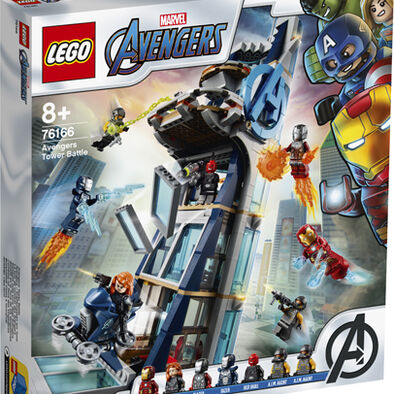 LEGO เลโก้ มาร์เวล อเวนเจอร์ ทาวเวอร์ แบทเทิล 76166