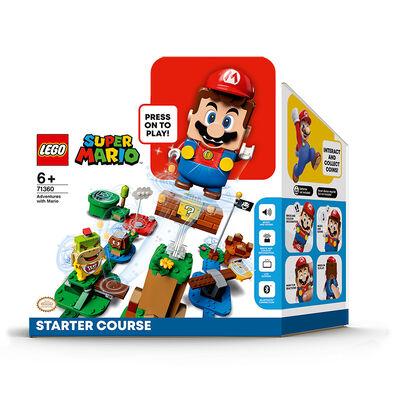 LEGO เลโก้ ซูเปอร์มาริโอ้ แอ็ดเวนเจอร์ วิท มาริโอ้ สตาร์ทเตอร์ คอร์ส 71360
