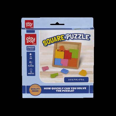 Play Pop เพลย ป๊อป Square Puzzle Strategy Game