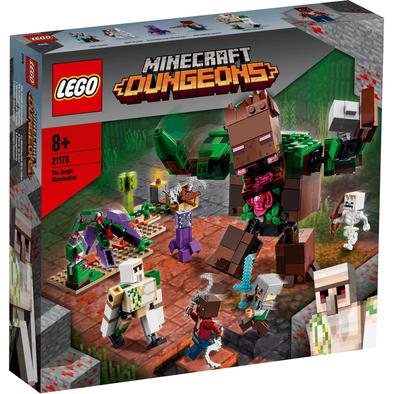 LEGO เลโก้ มายคราฟท์ เดอะ จังเกิล อะโบมิเนชั่น 21176