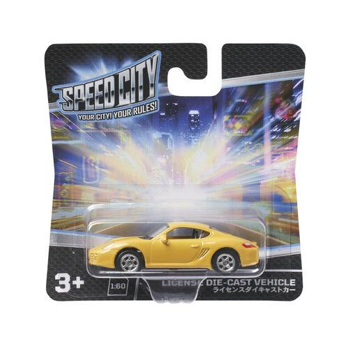 Speed City สปีด ซิตี้ รถดายแคสท์ - คละแบบ