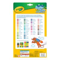 Crayola เครโยล่า สีเมจิกซุปเปอร์ทิปส์ 50สี