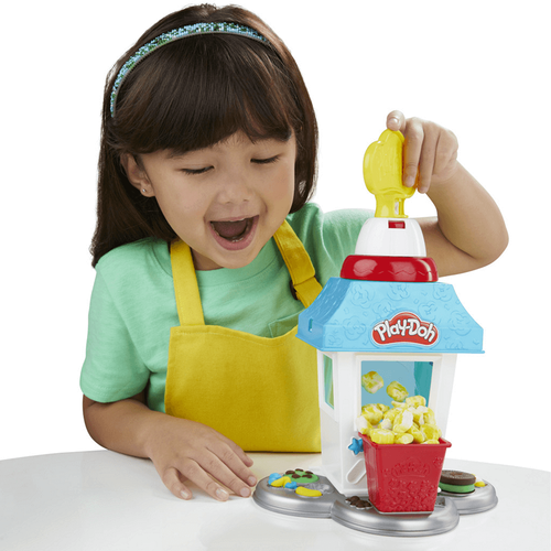 Play-Doh Kitchen Creation เพลย์โดว์ คิทเช่น ครีเอชั่น ป๊อปคอร์น ปาร์ตี้