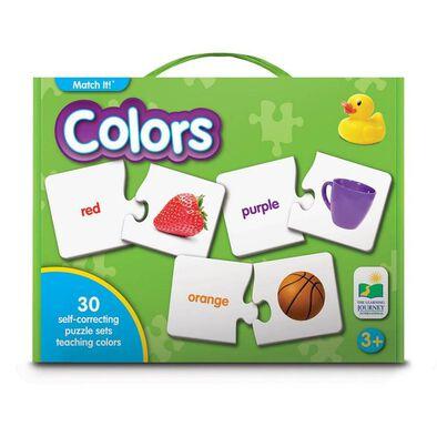 The Learning Journey เดอะ เลิร์นนิ่ง เจอร์นีย์ ชุดบัตรคำจับคู่ เสริมทักษะเกี่ยวกับเรื่องสี