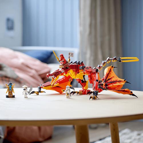 LEGO เลโก้ นินจาโก ฟายเออร์ ดรากอน แอทแท็ค 71753