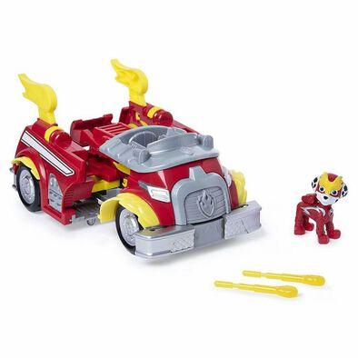 Paw Patrolพอว์ พาโทรล ชุดของเล่นยานพาหนะแปลงร่าง พร้อมฟิกเกอร์ คละแบบ