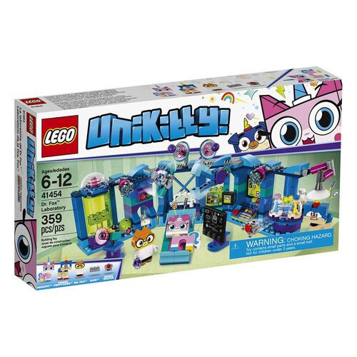 LEGO เลโก้ ดร.ฟ็อกซ์ แลบอราทอรี่ 41454