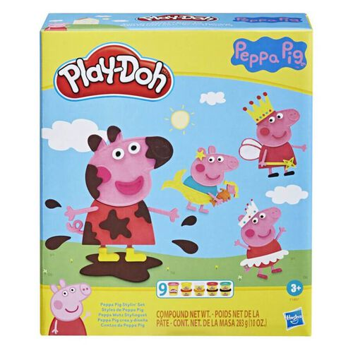Play-Doh เพลย์โดว์ เป๊ปป้า พิก สไตลิน เซ็ต