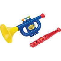 BRU Infant & Preschool บรู ชุดของเล่นเครื่องดนตรี แพ็ก 2 ชิ้น คละแบบ