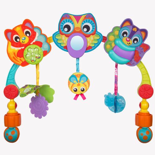 Playgro เพลย์โกร โมบายดนตรีรูปสัตว์ สำหรับติดรถเข็นหรือคาร์ซีท