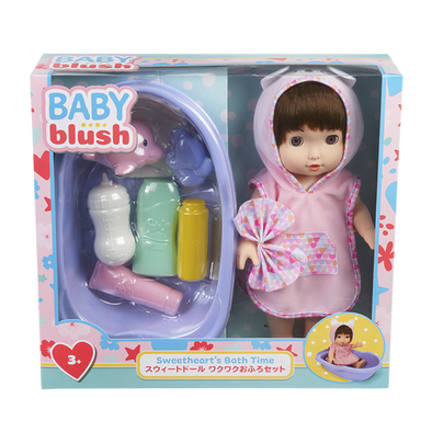 Baby Blush เบบี้ บลัช สวีทฮาร์ท บาธไทม์ ดอลล์เซ็ต