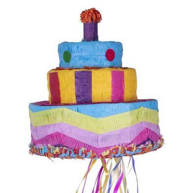 Amscan แอมสแกน พินนาต้าลายเค้กวันเกิด