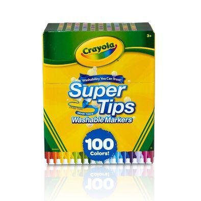 Crayola เครโยล่า สีเมจิกซุปเปอร์ทิปส์100สี