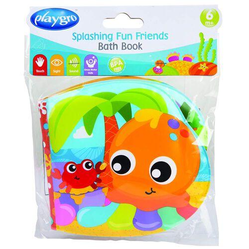 Playgro เพลย์โกร สมุดของเล่นอาบน้ำ
