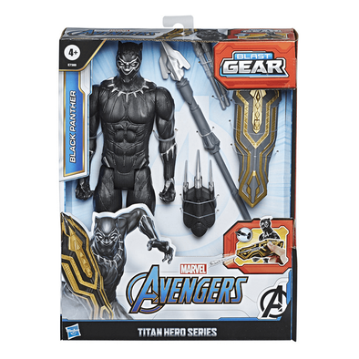 Avenger อเวนเจอร์ ไตตัน ฮีโร่ ซีรี่ส์ บลาส เกียร์ ดีลัก แบลค แพนเทอร์