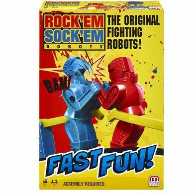 Mattel Games แมทเทล เกม Fast Fun Rock'Em Sock'Em ขนาดพกพา