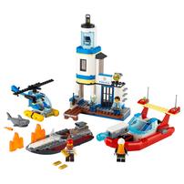 LEGO เลโก้ ซิตี้ ซีไซด์ โปลิส แอนด์ ฟายเออร์ มิชชั่น 60308
