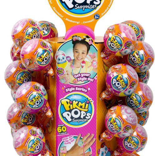 Pikmi Pops ของเล่น ของสะสม S3 Single Pack Stand Cdu Asst