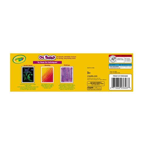 Crayola เครโยล่า สีชอล์กน้ำมันพาสเทล 24แท่ง