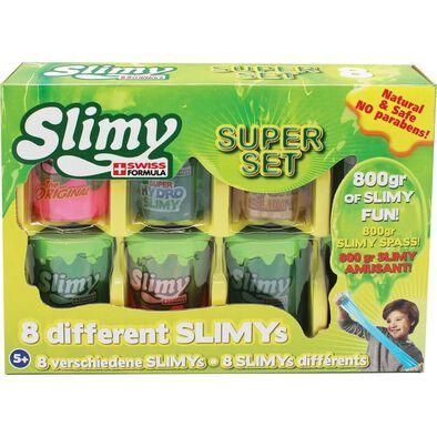 Slimy Swiss Formula สไลม์มี่ โจ๊กเกอร์ ซูเปอร์ เซ็ต 8 ถ้วย