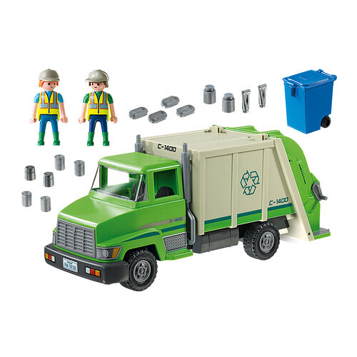 Playmobil เพลย์โมบิล ชุดรถเก็บขยะรีไซเคิล