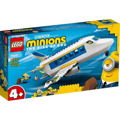 LEGO เลโก้ มินเนี่ยน ไพล็อท อิน เทรนนิ่ง 75547
