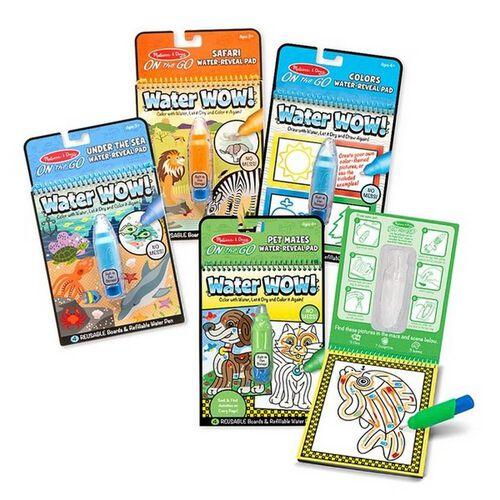 วอเตอร์ ว้าว! 2 สมุดระบายสีด้วยน้ำ