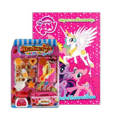 My Little Pony มายลิตเติลโพนี่ เริงร่ากับผองเพื่อน + ชุด Bakery Happy Shop