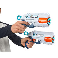 X-Shot เอ็กซ์ช็อต รีเฟล็กซ์ รีโวลเวอร์ TK-6 คอมโบ