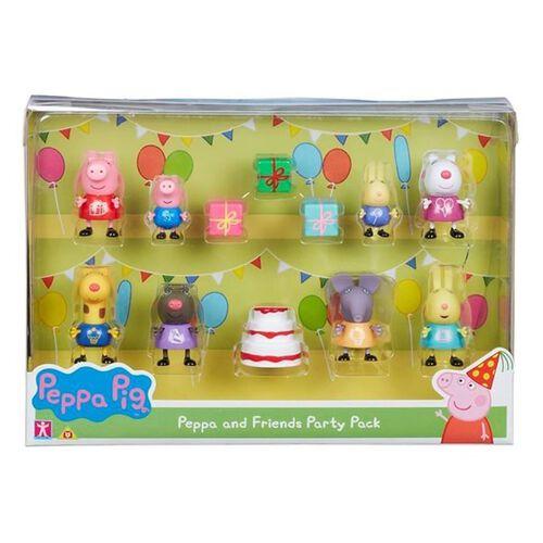 Peppa Pig เป๊ปป้า พิก ของเล่นฟิกเกอร์ปาร์ตี้เซ็ท